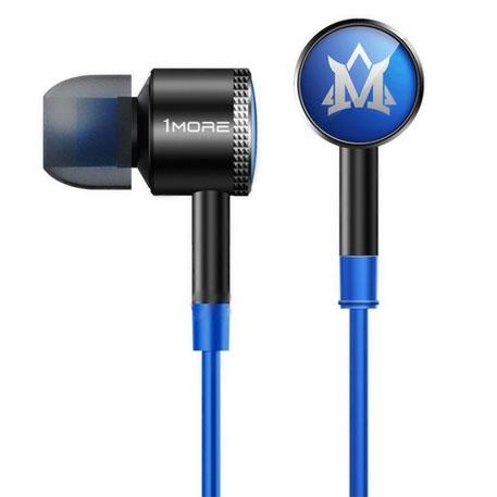 1more momo in ear headphones blue