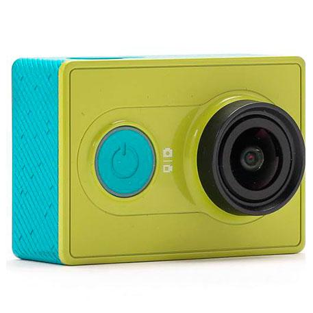 Салатовый фотоаппарат