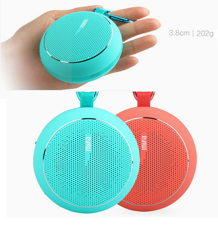 Wholesale MiFa Outdoor Bluetooth Speaker Blue Price At NIS-Store.com