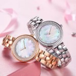 TwentySeventeen Crystal Quartz Watch Silver