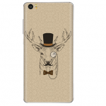Xiaomi Mi Note Vinyl Sticker Back Cover Gentleman