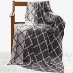 Tonight Сotton Knitted Blanket Gray 80x140