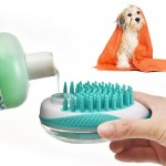 Multifunction Pet Cleaning Comb Green