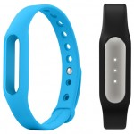 Xiaomi Mi Band Black + Mi Band Strap Blue
