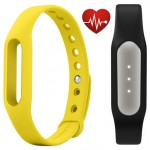 Xiaomi Mi Band Pulse Black + Mi Band Strap Yellow