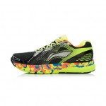 Xiaomi X Li-Ning Liejun Men`s Smart Running Shoes ARHK081-2-10 Size 44 Black / Fluorescent Yellow / Orange / Blue