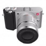 Xiaomi Yi M1 Mirrorless Digital Camera  Zoom Lens Chinese Version Silver