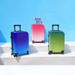 YANG 20inch Student Gradient Suitcase Blue