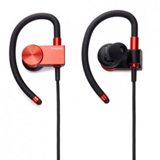 1More Active Sport Bluetooth Ear-Hook Headphones Red
