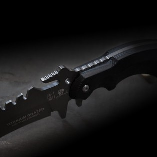 HX OUTDOORS trident outdoor survival knife Black