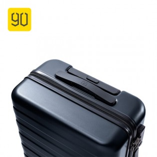 "RunMi 90 Fun Seven Bar Business Suitcase 20"" Titanium Gray"