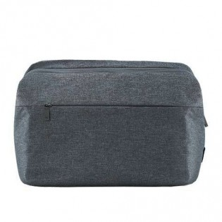 RunMi 90 Points GOFUN Urban Simple Mail Bag Dark Gray