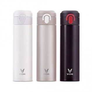 Viomi Portable Thermos Stainless Steel Vacuum Cup Black