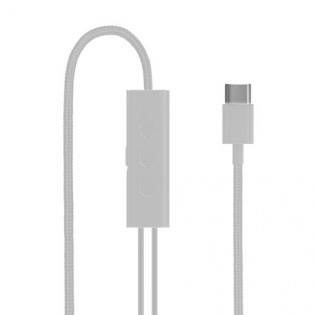 Xiaomi Mi Noise Cancelling In-Ear Headphones Type-C White
