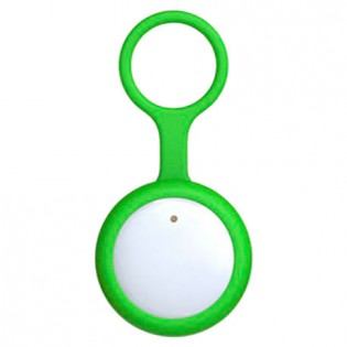 Amazpet Smart Dog Button Tag Green