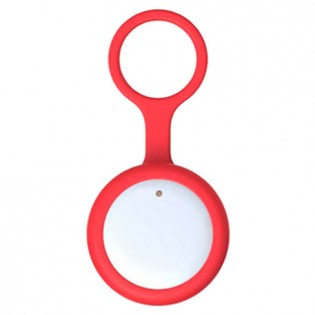 Amazpet Smart Dog Button Tag Red