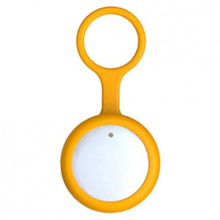 Amazpet Smart Dog Button Tag Yellow