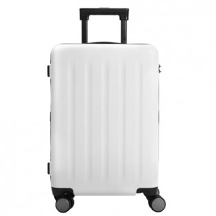 "RunMi Trolley 90 Points Suitcase 20""  White Moon Light"