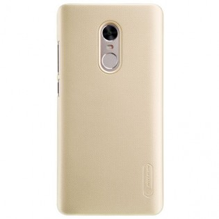Wholesale Xiaomi Redmi Note 4X Nillkin Frosted Shield Hard Case Gold price at NIS-Store.com