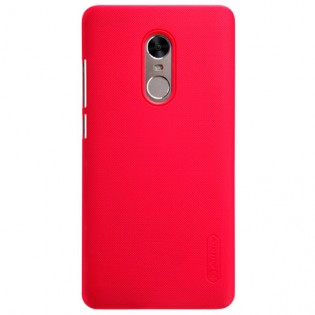 Xiaomi Redmi Note 4X Nillkin Frosted Shield Hard Case Red