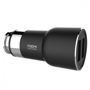 RoidMi 5 in 1 Music Bluetooth Car Charger 2 Classic BFQ03RM Black