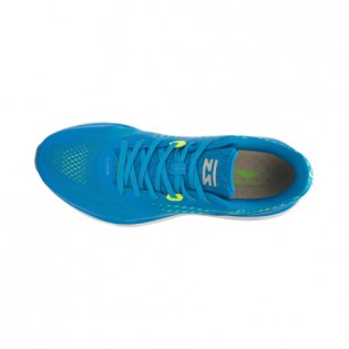 Xiaomi X Li-Ning Cloud III Men`s Cushion Running Shoes ARHL007-2-7 Size 43.5 Blue / Fluorescent Yellow / White