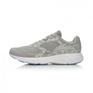 Xiaomi X Li-Ning Cloud III Men`s Cushion Running Shoes ARHL007-9-10 Size 42 Gray / White