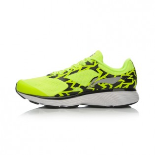 Xiaomi X Li-Ning Cloud III Men`s Smart Cushion Running Shoes ARHL037-3-10 Size 39.5 Fluorescent Yellow / Black / White