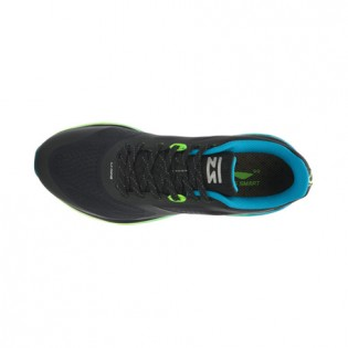 Xiaomi X Li-Ning Cloud III Men`s Smart Cushion Running Shoes ARHL037-4-10 Size 39.5 Black / Blue / Fluorescent Green