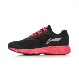 Xiaomi X Li-Ning Cloud III Women`s Cushion Running Shoes ARHL002-7-8 Size 41.5 Black / Pink