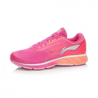 Xiaomi X Li-Ning Cloud III Women`s Smart Cushion Running Shoes ARHL044-1-10 Size 37 Pink / Orange
