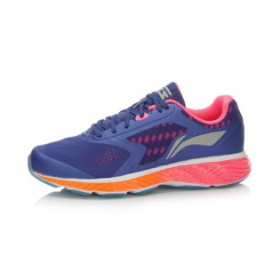 Xiaomi X Li-Ning Cloud III Women`s Smart Cushion Running Shoes ARHL044-3-10 Size 40 Purple / Pink / Orange