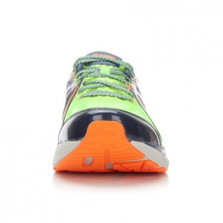 Xiaomi X Li-Ning Liejun 2016 Men`s Smart Running Shoes ARHL043-1-9.5 Size 41.5 Fluorescent Green / Gray / Orange