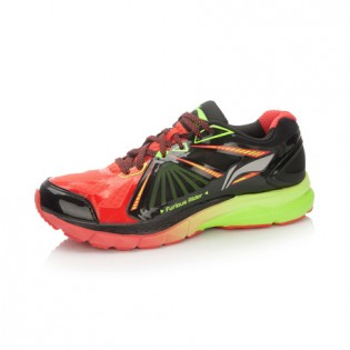 Xiaomi X Li-Ning Liejun 2016 Men`s Smart Running Shoes ARHL043-2-9.5 Size 41.5 Black / Orange / Fluorescent Green