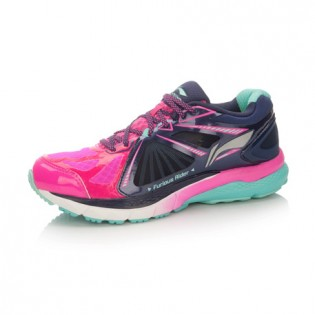 Xiaomi X Li-Ning Liejun 2016 Women`s Smart Running Shoes ARHL048-2-6 Size 35.5 Pink / Black / Blue / White