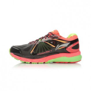 Xiaomi X Li-Ning Liejun 2016 Women`s Smart Running Shoes ARHL048-3-6 Size 37 Black / Orange / Fluorescent Green
