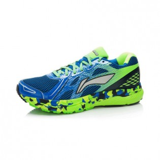 Xiaomi X Li-Ning Liejun Men`s Smart Running Shoes ARHK081-1-10 Size 39.5 Blue / Fluorescent Green / White