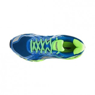 Xiaomi X Li-Ning Liejun Men`s Smart Running Shoes ARHK081-1-10 Size 43 Blue / Fluorescent Green / White