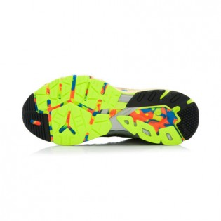 Xiaomi X Li-Ning Liejun Men`s Smart Running Shoes ARHK081-2-10 Size 45 Black / Fluorescent Yellow / Orange / Blue