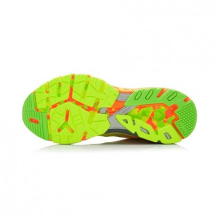 Xiaomi X Li-Ning Liejun Men`s Smart Running Shoes ARHK081-3-10 Size 42 Fluorescent Yellow / Fluorescent Green / Orange