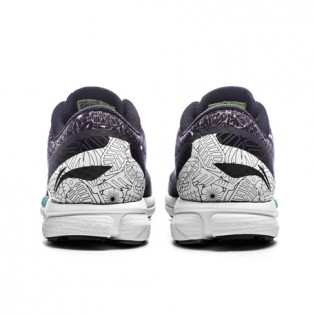 Xiaomi X Li-Ning Trich Tu Glory Women`s Smart Running Shoes ARBL104-11-9 Size 36 Black / White / Purple / Blue / Green