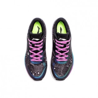Xiaomi X Li-Ning Trich Tu Glory Women`s Smart Running Shoes ARBL104-11-9 Size 40 Black / White / Purple / Blue / Green