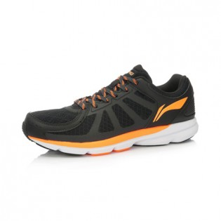 Xiaomi X Li-Ning Trich Tu Men`s Smart Running Shoes ARBK079-11-10 Size 45 Black / Orange