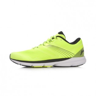 Xiaomi X Li-Ning Trich Tu Men`s Smart Running Shoes ARBK079-21-11 Size 45 Fluorescent Yellow / Black