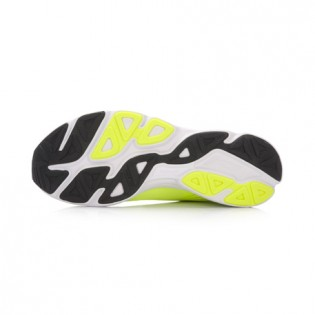 Xiaomi X Li-Ning Trich Tu Men`s Smart Running Shoes ARBK079-21-11 Size 39.5 Fluorescent Yellow / Black