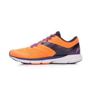 Xiaomi X Li-Ning Trich Tu Men`s Smart Running Shoes ARBK079-25-11 Size 43.5 Orange / Black / Purple