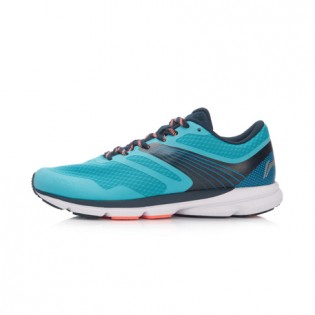 Xiaomi X Li-Ning Trich Tu Men`s Smart Running Shoes ARBK079-27-11 Size 41 Turquoise / Blue / Black / Orange