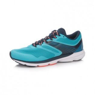 Xiaomi X Li-Ning Trich Tu Men`s Smart Running Shoes ARBK079-27-11 Size 39.5 Turquoise / Blue / Black / Orange