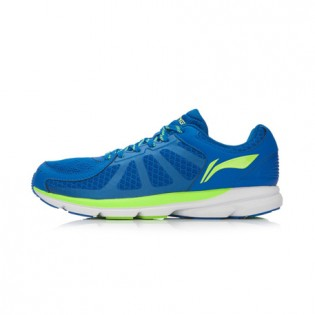 Xiaomi X Li-Ning Trich Tu Men`s Smart Running Shoes ARBK079-6-10 Size 39 Blue / Fluorescent Green