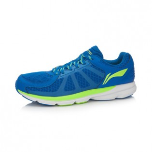 Xiaomi X Li-Ning Trich Tu Men`s Smart Running Shoes ARBK079-6-10 Size 39.5 Blue / Fluorescent Green